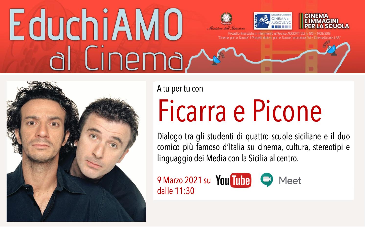 A TU PER TU CON FICARRA E PICONE (In diretta streaming dalle 11:30)