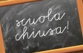 Avviso chiusura uffici amministrativi e locali scolastici